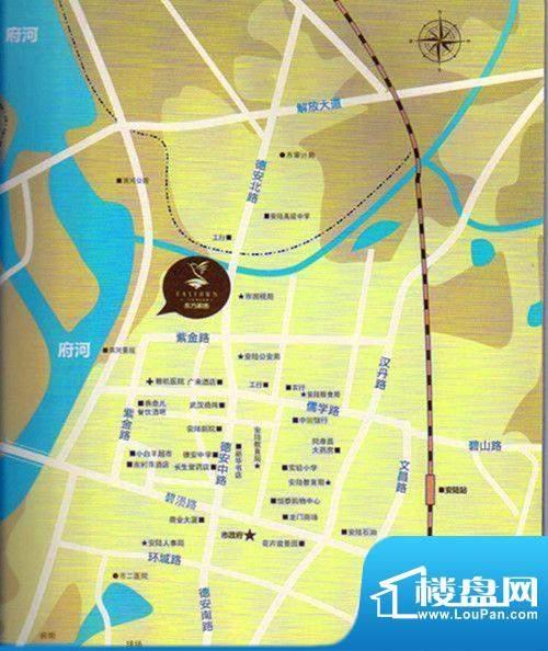 东方家园交通图