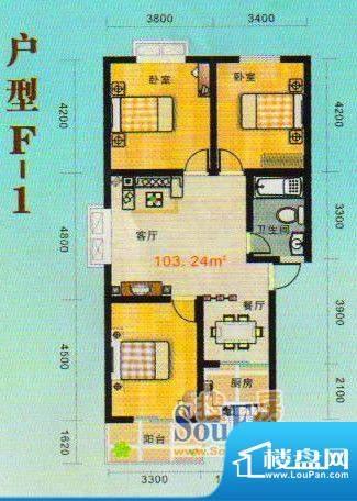 金张湾花园实景图