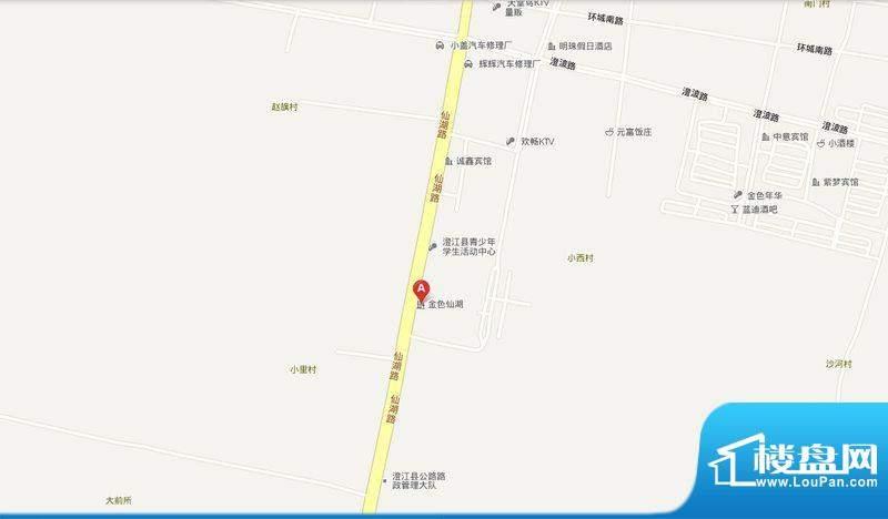 金色仙湖交通图