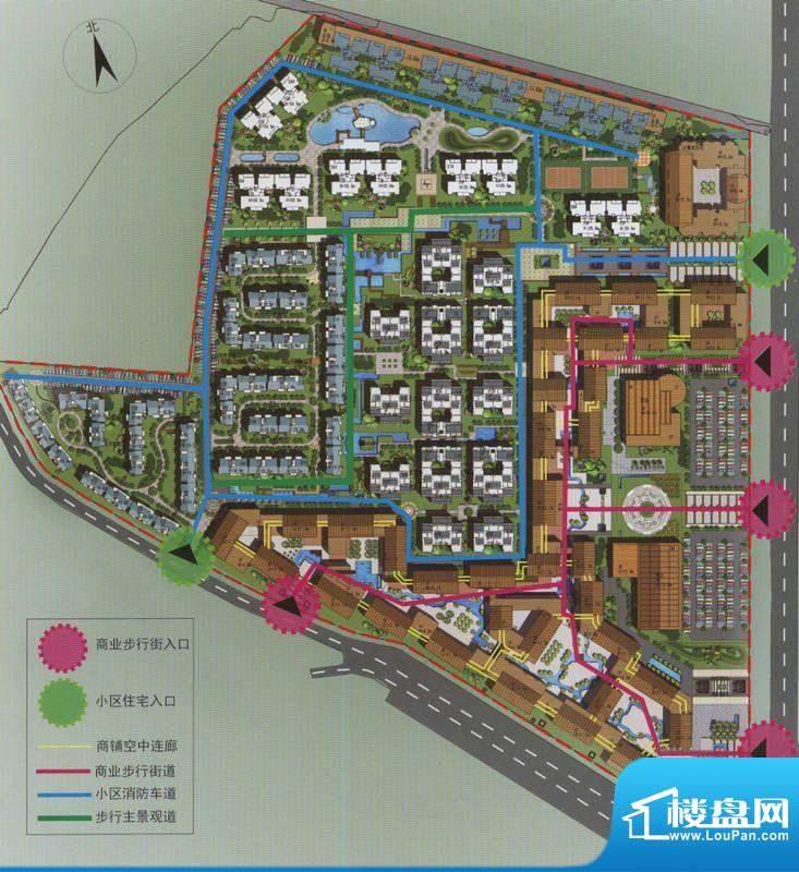 古滇国城实景图
