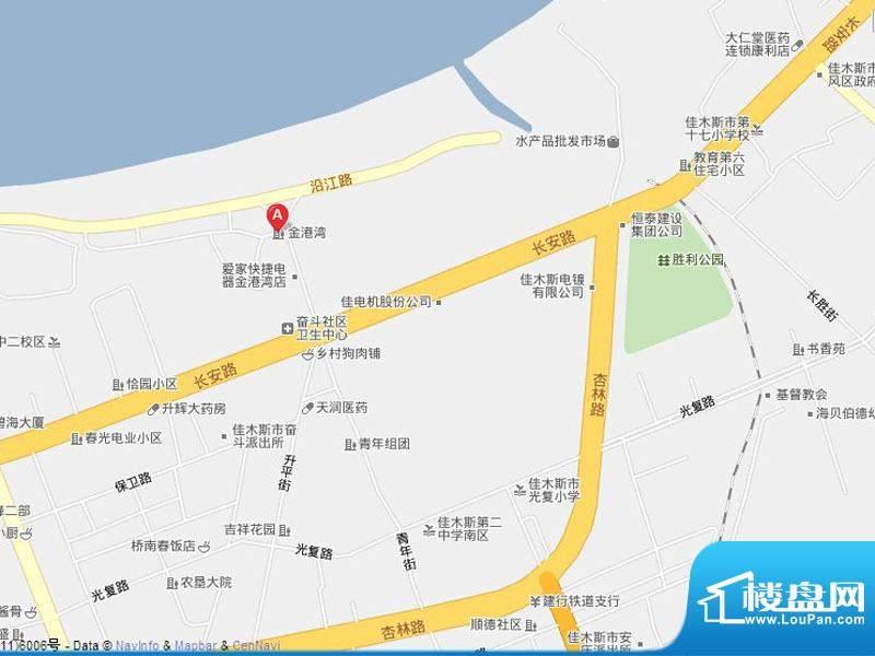 金港湾二期交通图