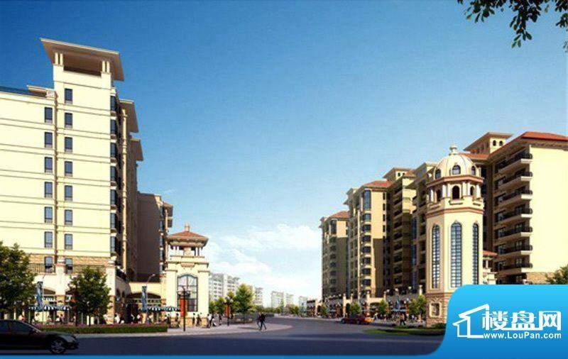 武汉锦绣香江商铺商业中心外景图(2011