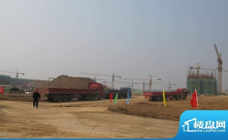 碧桂园欧洲城建设工地现场外景图(2011