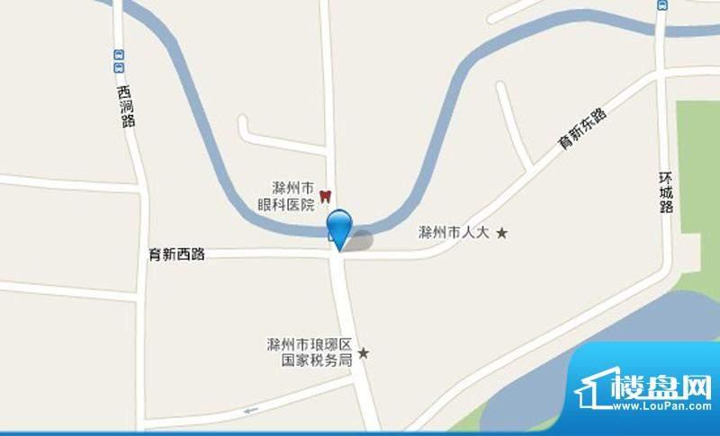泰鑫·现代城交通图