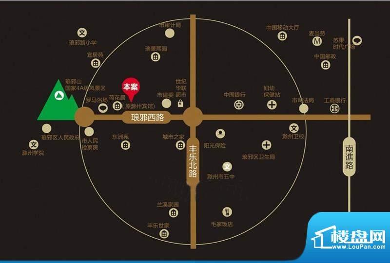 永泰·臻美天城交通图