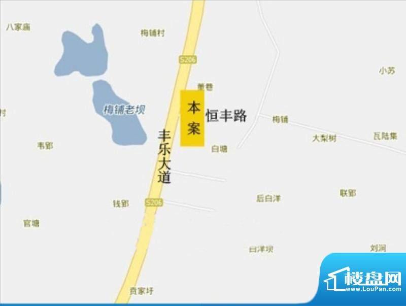 城南·京华园交通图