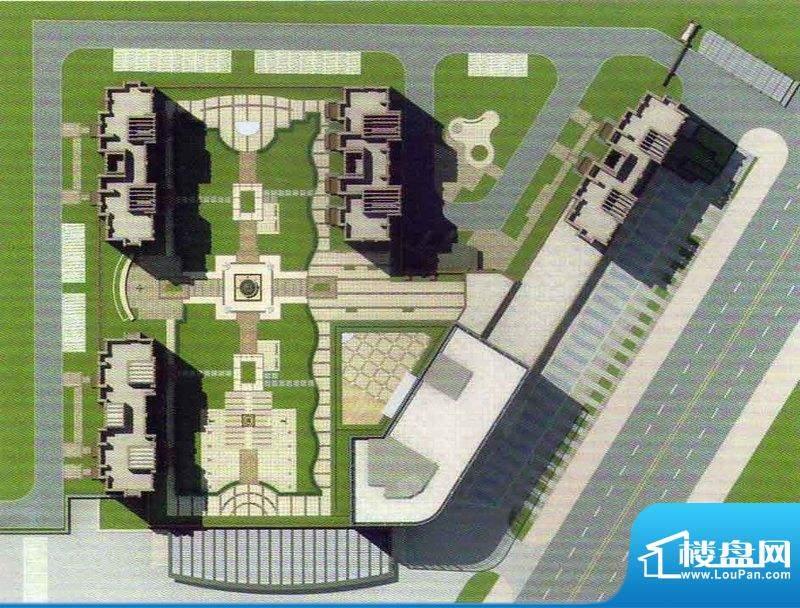 万豪·国际花园交通图