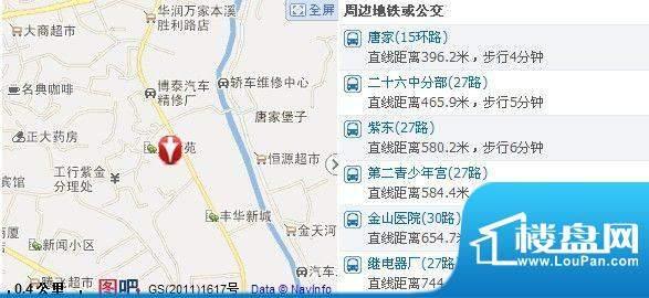 世福佳苑·碧春园交通图