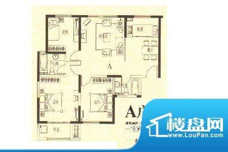 龙城国际6 3室2厅2卫面积:113.80m平米