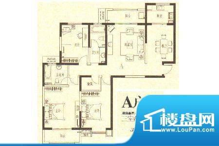 龙城国际5 3室2厅2卫面积:146.00m平米