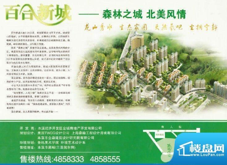 百合新城实景图