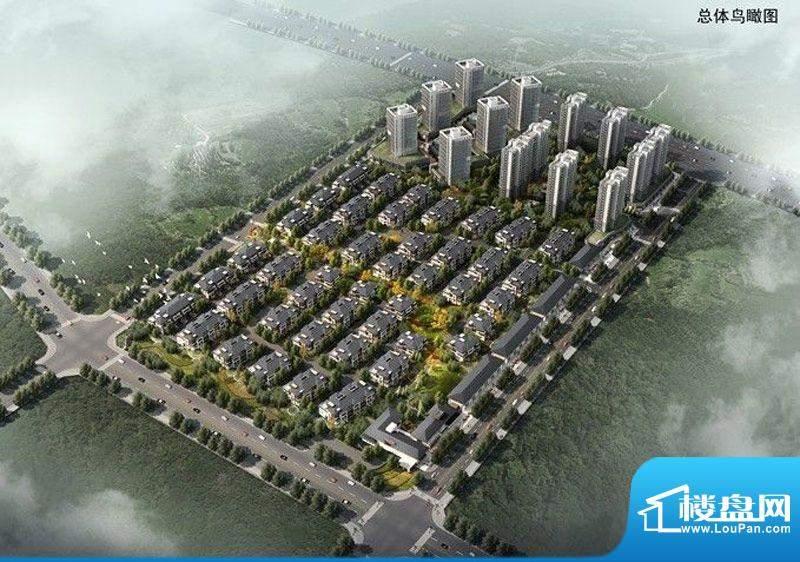 中海·华山城实景图