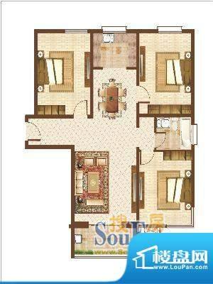 信达·现代城12 3室面积:0.00m平米