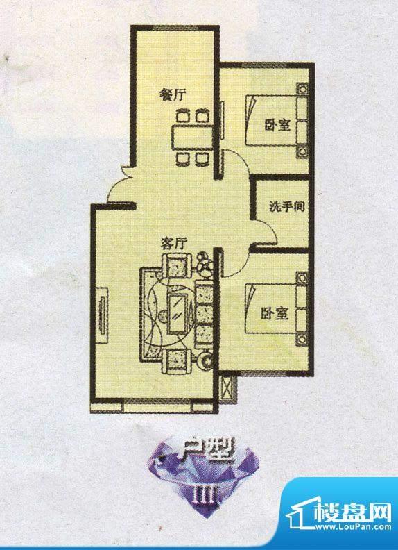 幸福e家户型图面积:0.00m平米