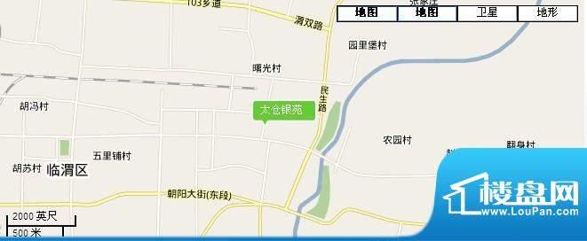 太仓银苑交通图