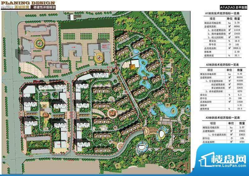 溪城丽景交通图