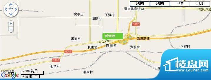 绿景园交通图