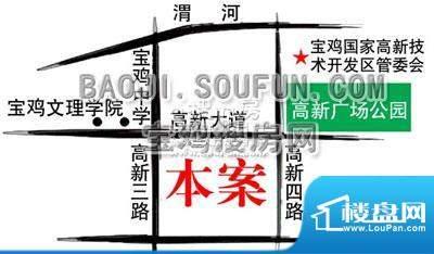 左岸新城交通图