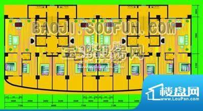 陈仓大厦户型图 面积:0.00m平米