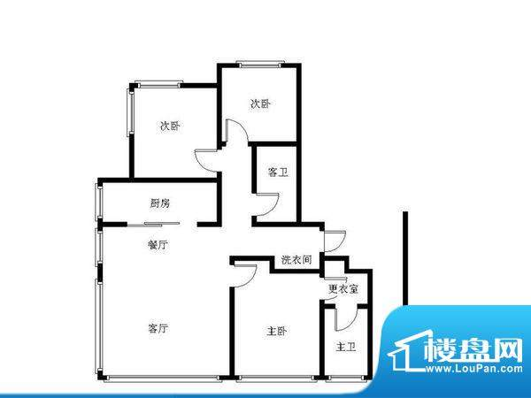 红玺台 0室 户型图