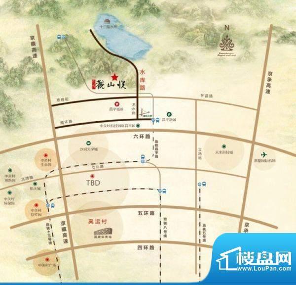 领秀·观山悦交通图