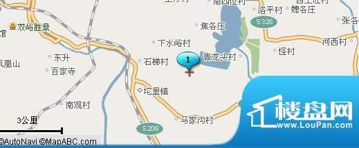 龙湖锦坨城交通图