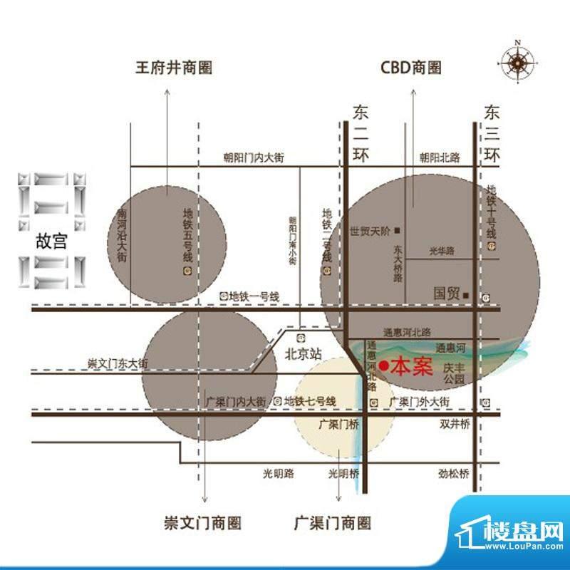 京禧阁交通图