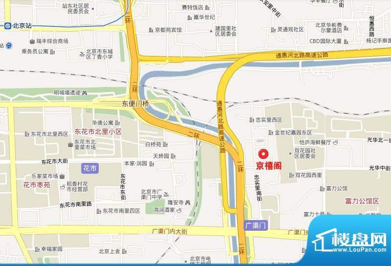 京禧阁项目区位图