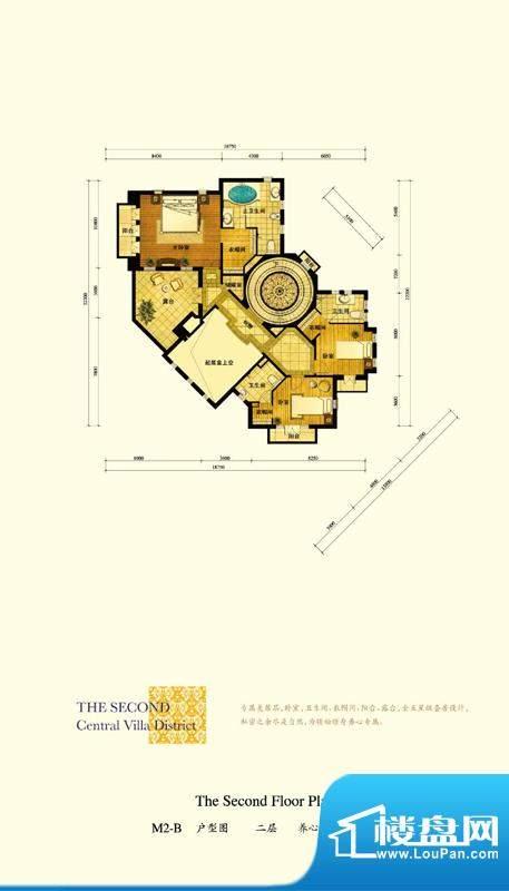 格拉斯小镇M2-B户型二层户型图面积:169.10平米