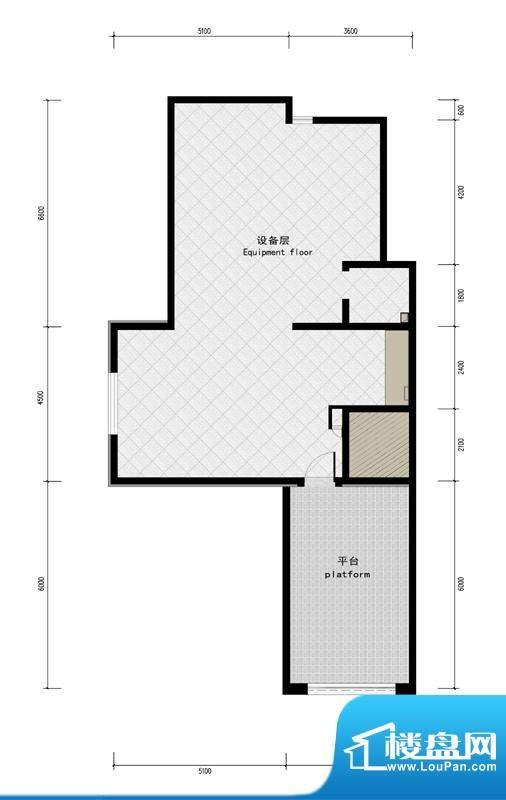 润泽庄园·墅郡C户型-屋顶 5室