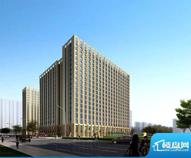 中国铁建国际城乐想汇实景图