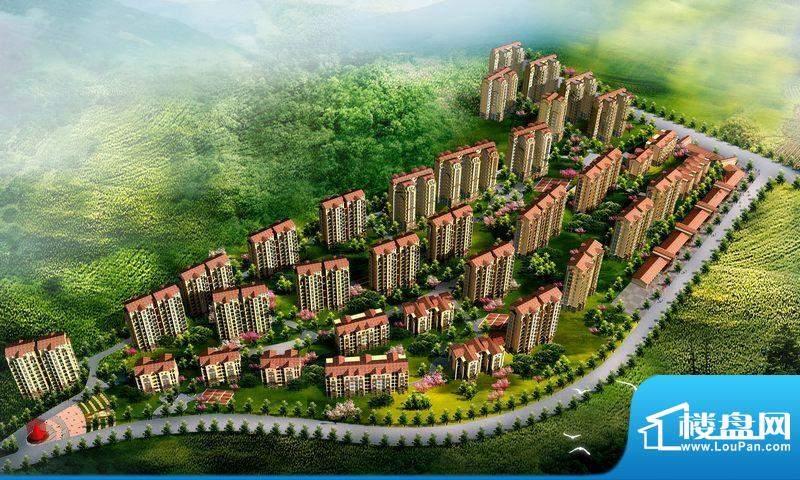 鸿都第一城实景图