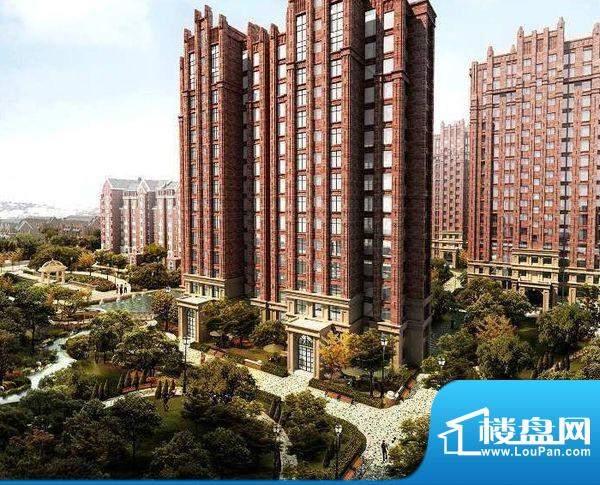 北京城建徜徉集楼栋效果图