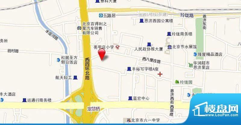 正源广场区位交通图
