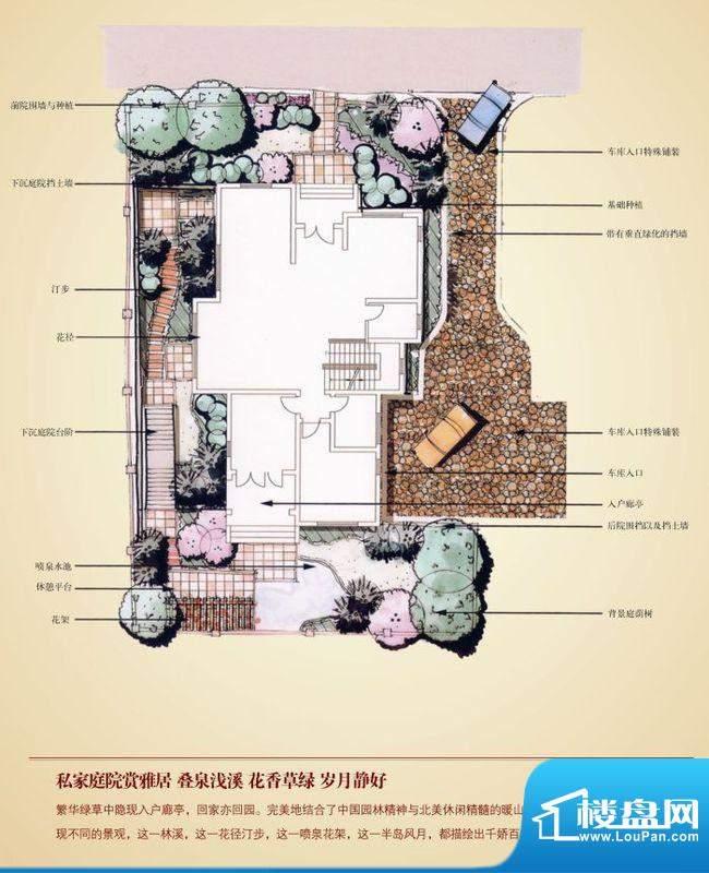 康城暖山b1园林层 总面积:422面积:422.00平米