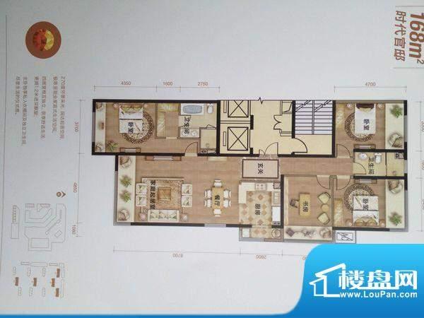 龙湖·时代天街 0室 户型图
