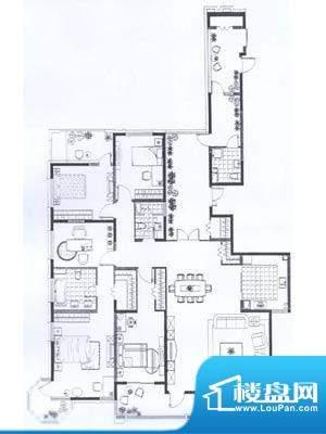 尚海湾豪庭户型图 5室2厅7卫面积:288.00平米