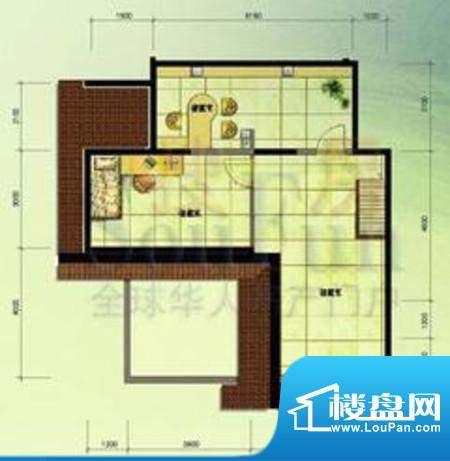 北京奥林匹克花园ⅢB1边1-SY户面积:30.60平米