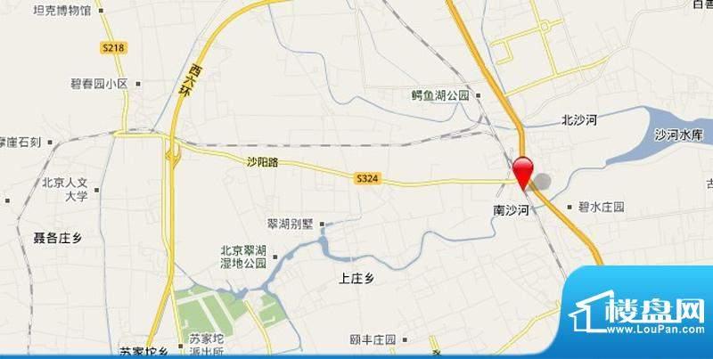 保利·罗兰香谷交通图