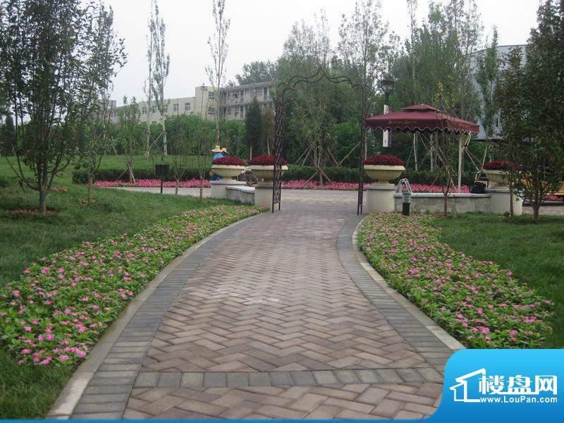 保利·罗兰香谷园林实景图2012.2
