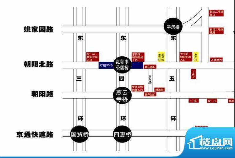 小悦城交通图