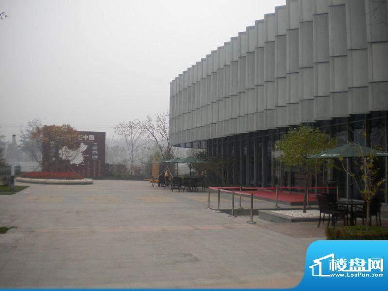 保利中央公园售楼处实景图2011.11