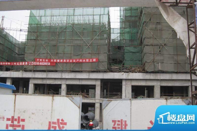 北京锋巢施工实景图2010.5