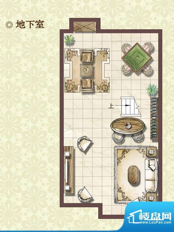 绿地蔷薇四季尊崇艺墅地下室户面积:99.00平米