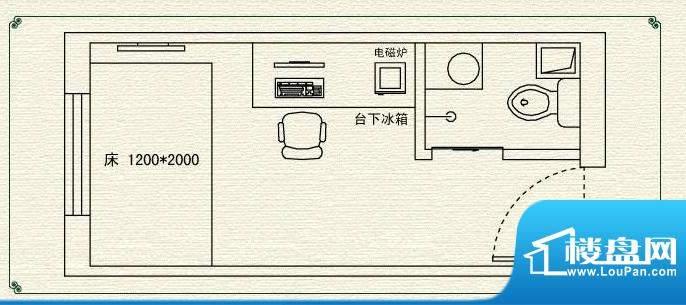 高教新城·学区嘉园高教大楼户面积:20.00平米