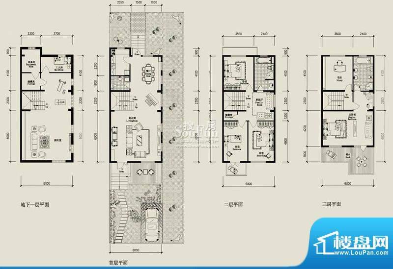 高教新城·学区嘉园北一街8号二面积:311.00平米