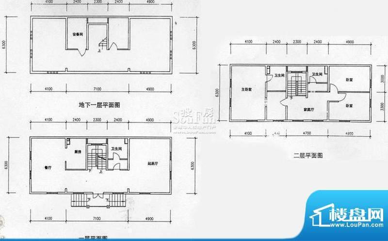高教新城·学区嘉园北一街8号二面积:324.00平米