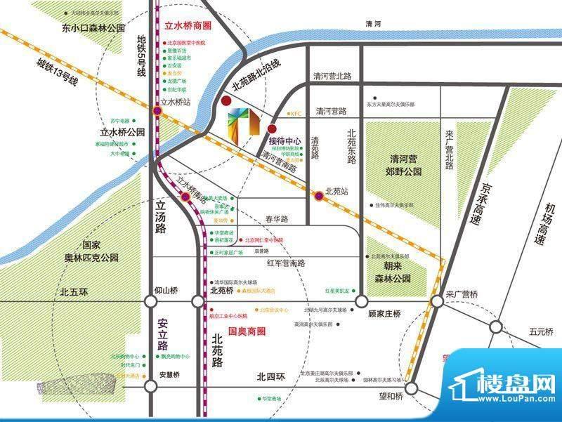北京城建·N次方实景图