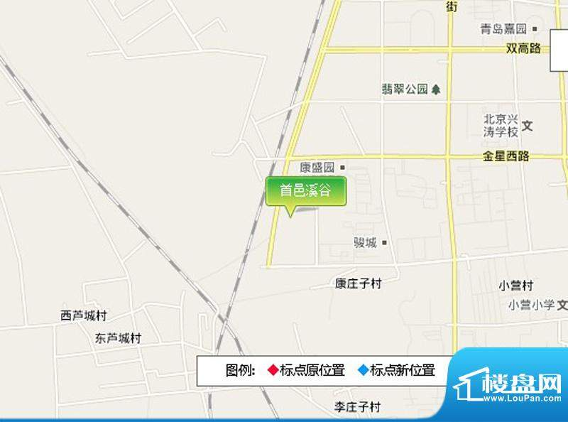 首邑溪谷交通图