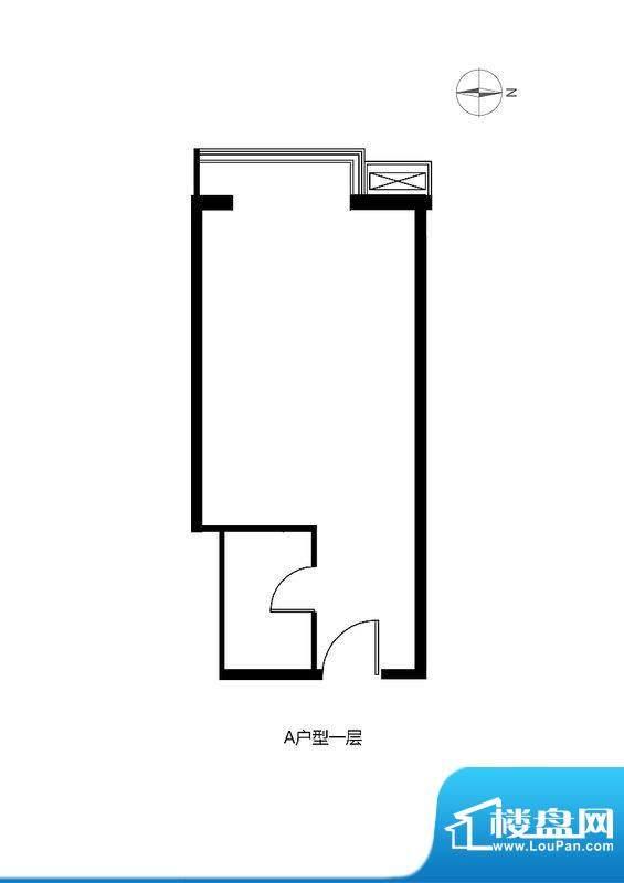 绿城阳光公馆商业A户型图
